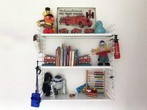 batboy, mamablog, een kijkje in de slaapkamer van een brandweer en dino fan