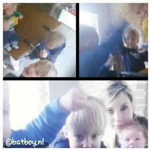 niet samen op de foto, foto's maken van je kinderen