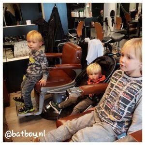 met jongens naar de kapper, de schaar erin, mamablog, batboy, hans hairstudio