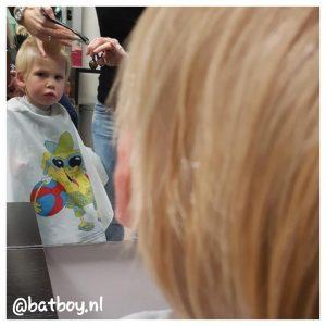 mamablog, batboy, met jongens naar de kapper, hans hairstudio