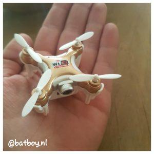 mamablog, batboy, een mini drone