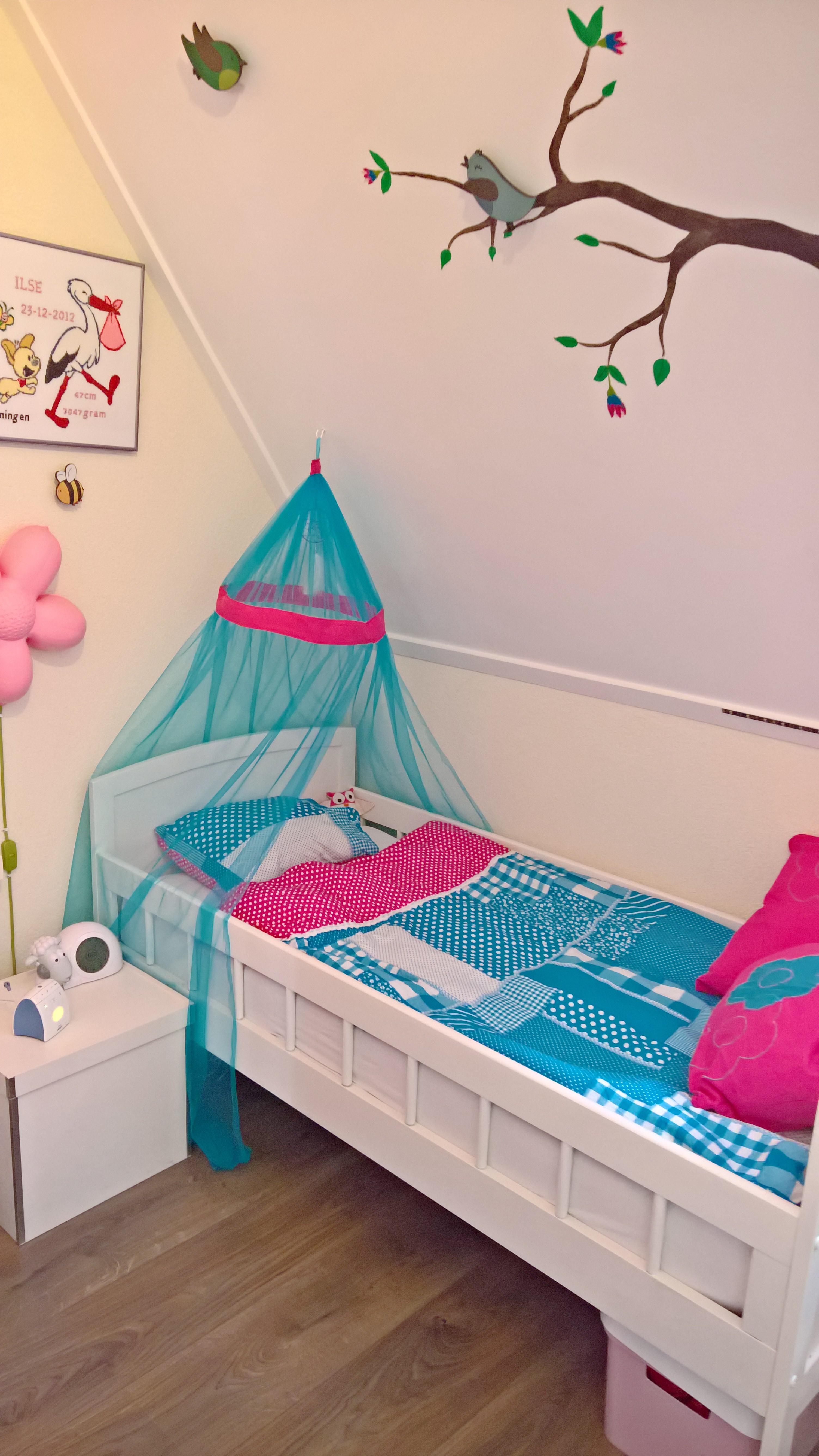 meisjes slaapkamer, roze