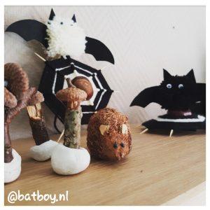 halloween vleermuizen maken, batboy, mamablog