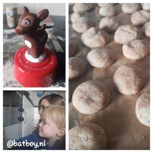 batboy, mamablog, koekjes bakken