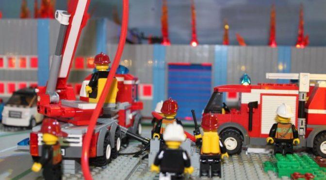 Brandweer LEGO tentoonstelling