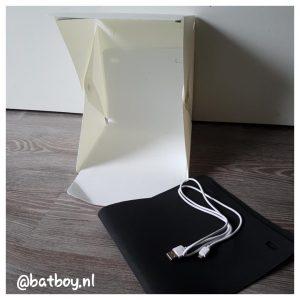 fotostudio lightbox, mamablog, batboy, opvouwbare lightbox