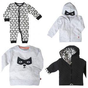 monochrome outfit voor je baby, mamablog, batboy