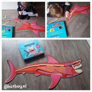 mamablog, batboy, haaien puzzel, ik maak mijn eigen haai