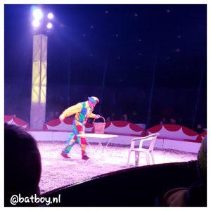mamablog, batboy, naar het circus
