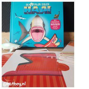 haaien puzzel, ik maak mijn eigen haai, mamablog, batboy