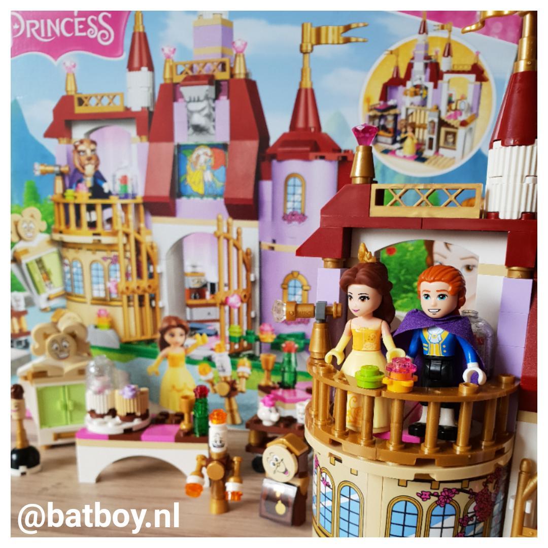 belle, lego, prinsessen