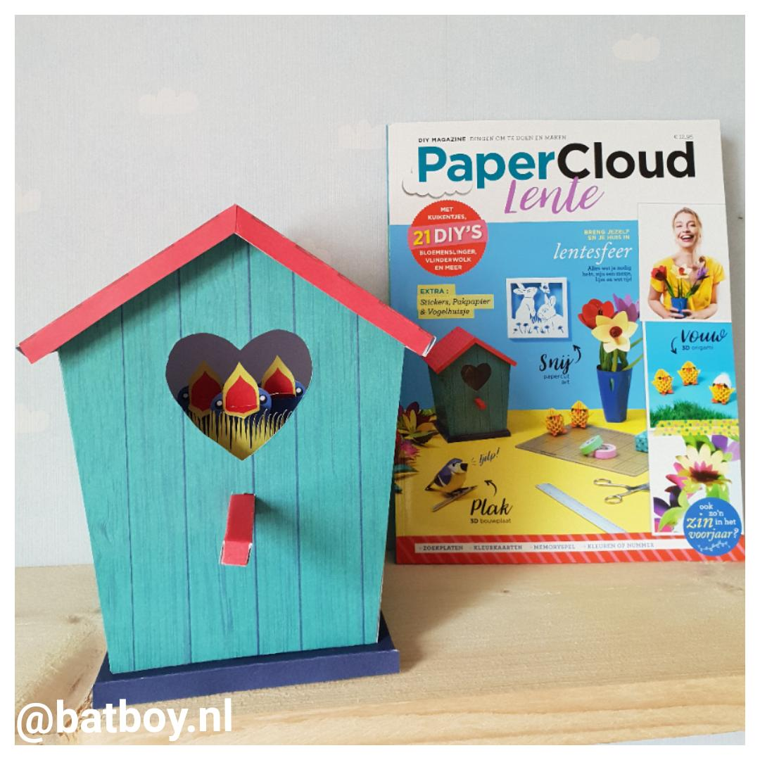 mamablog, batboy, diy magazine papercloud