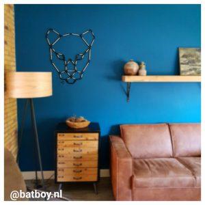 mamablog, batboy, wanddecoratie, 3d wanddecoratie