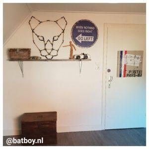 3d wanddecoratie, wanddecoratie, mamablog, batboy