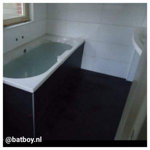tegels in de badkamer, mamablog, batboy