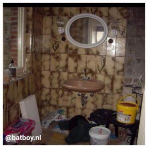 tegels in de badkamer, mamablog, batboy, lifestyle
