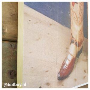 foto op hout, mamablog, batboy