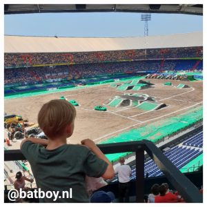 mamablog, batboy, monster jam