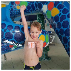 zwemmen, mamablog, batboy