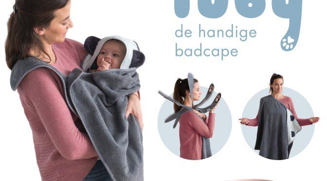 De handige badcape Tuby