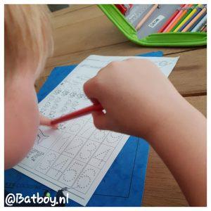 huiswerk, mamablog, batboy