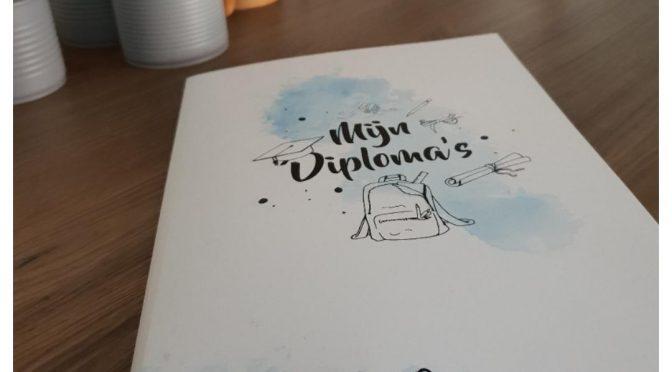 Diplomamap, een handige opberger