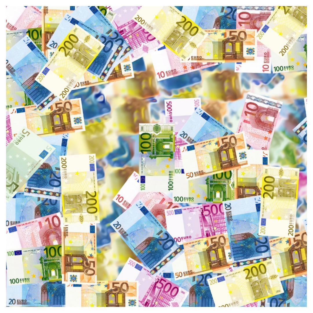 geld, spulletjes