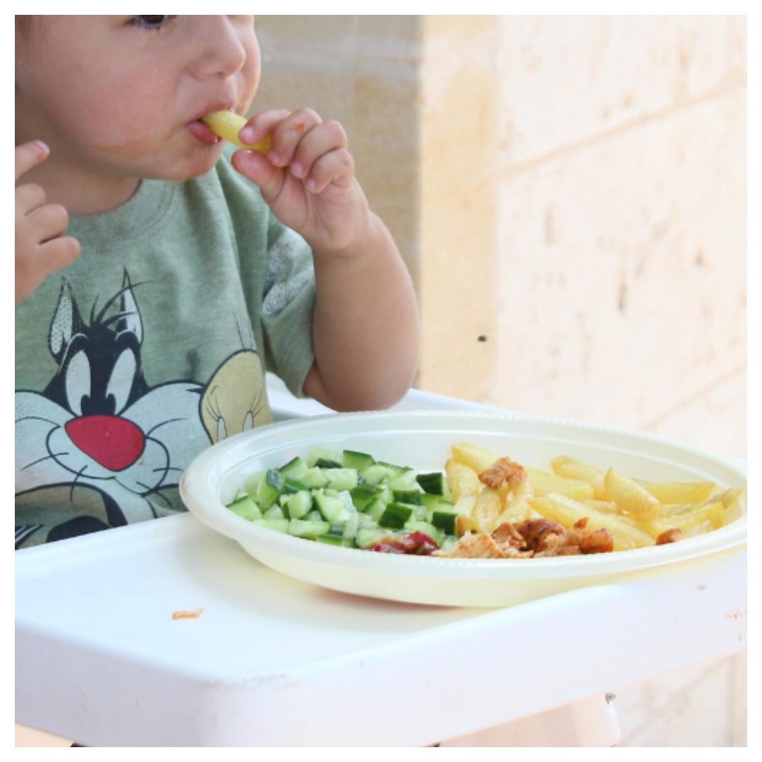 groente, kind, stimuleren, eten