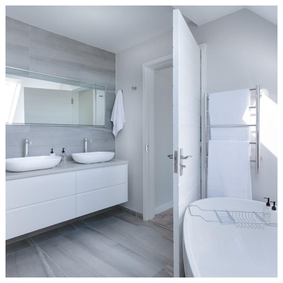 aangename, badkamer, tips