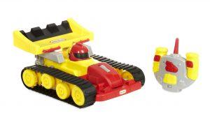 bestuurbare auto, peuter, rc dozer racer