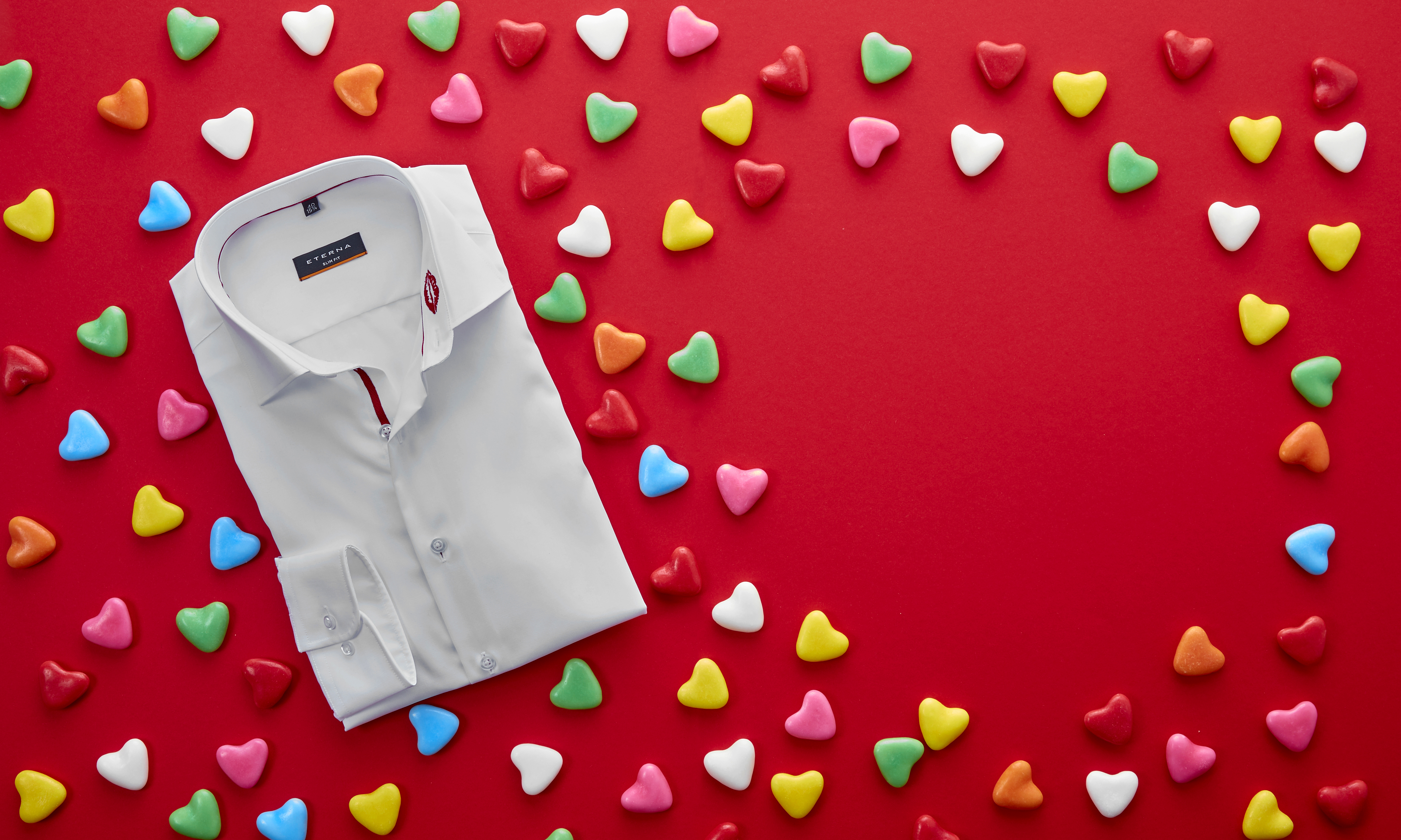 valentijn, overhemd