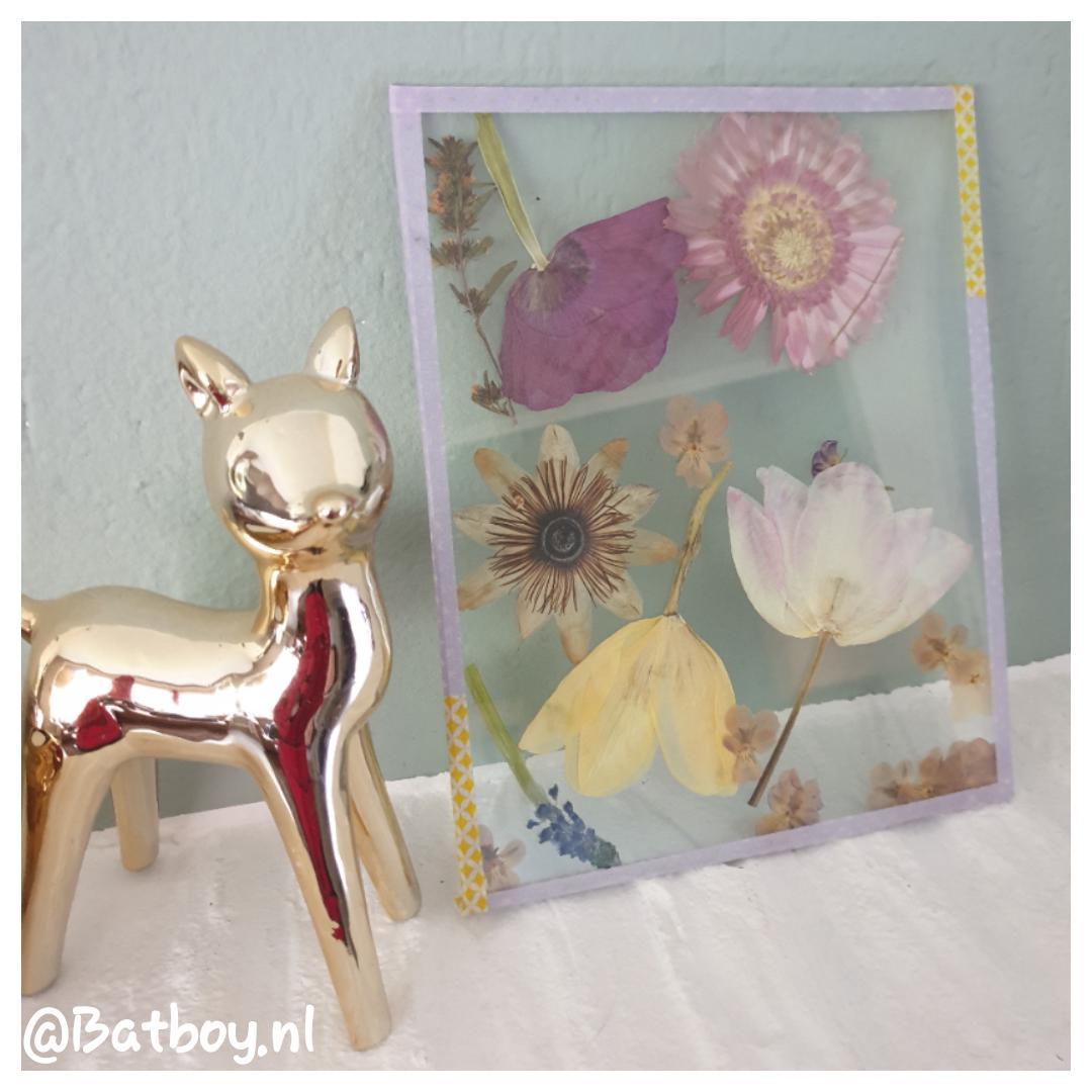 bloemen, zelfgeplukte, knutselen, moederdag, cadeau