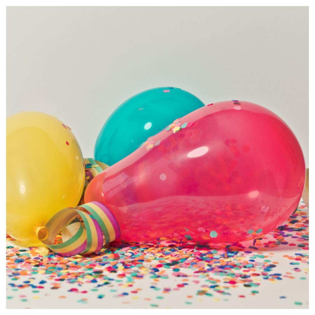 verjaardagsfeestje, hapjes, overleef, feest