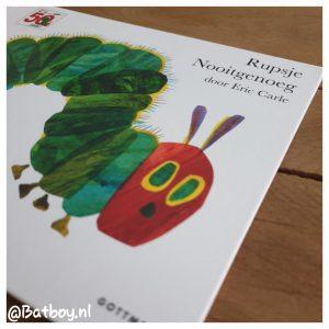kinderboek, rupsje nooitgenoeg