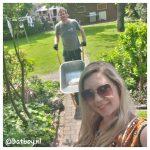 tuin, buiten, knusse plekjes, verbouwing