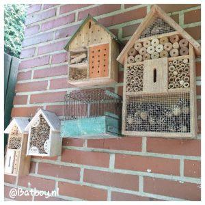 insectenhotel, tuin, insecten