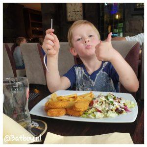 patat, kinderen, grieks restaurant