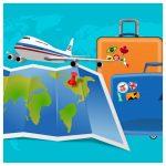 koffer, reistas, inpakker, vakantie