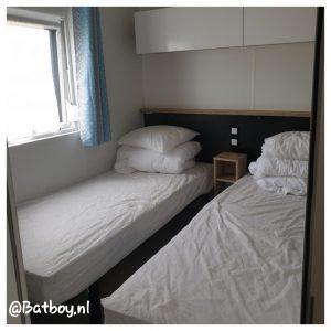 stacaravan, slaapkamers