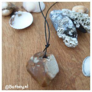 ketting, souvenir, steen