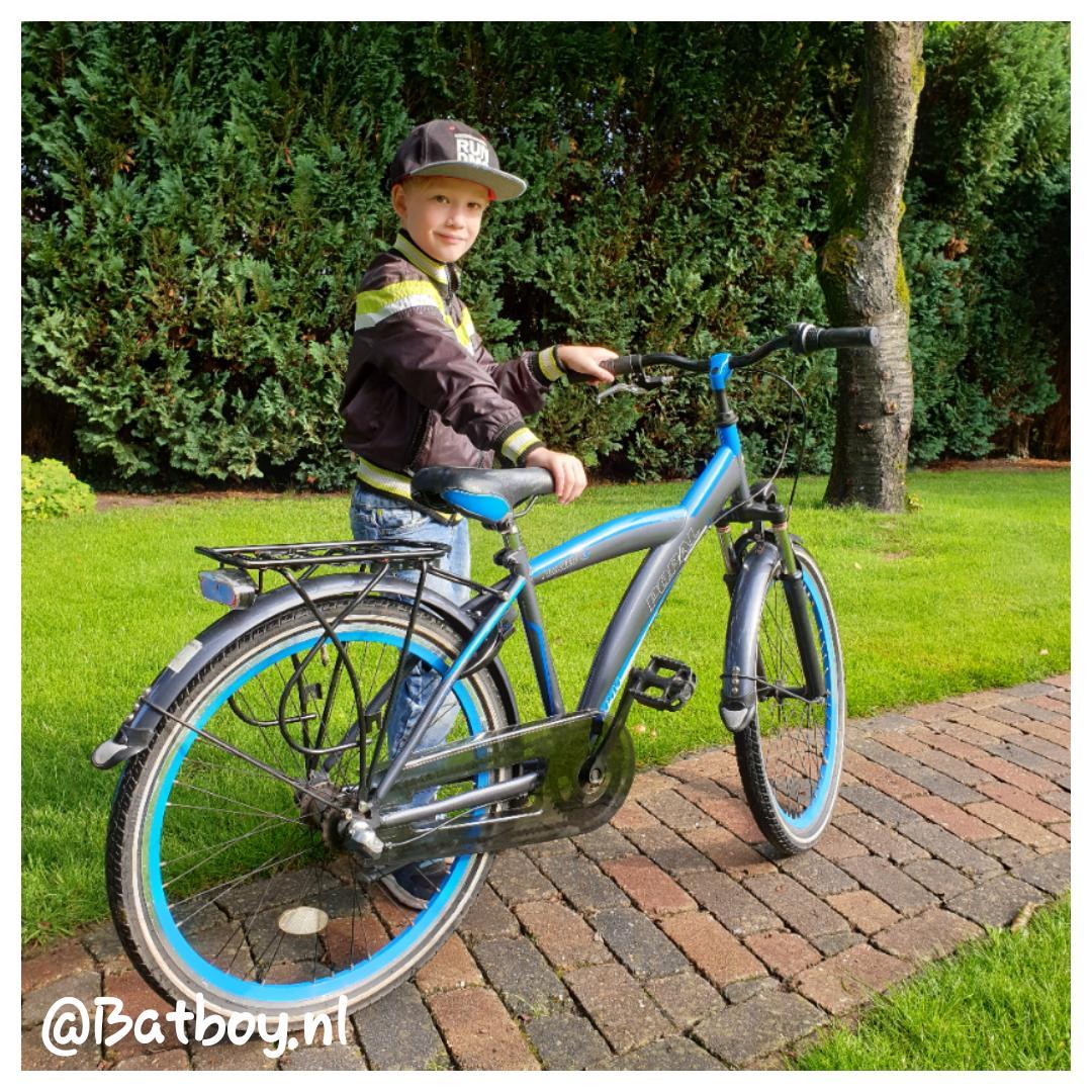 fiets, kinderfiets, maat, tweedehands, jongensfiets