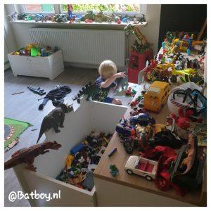 speelgoed opruimen, opruimen