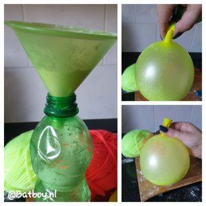 stressbal, ballon