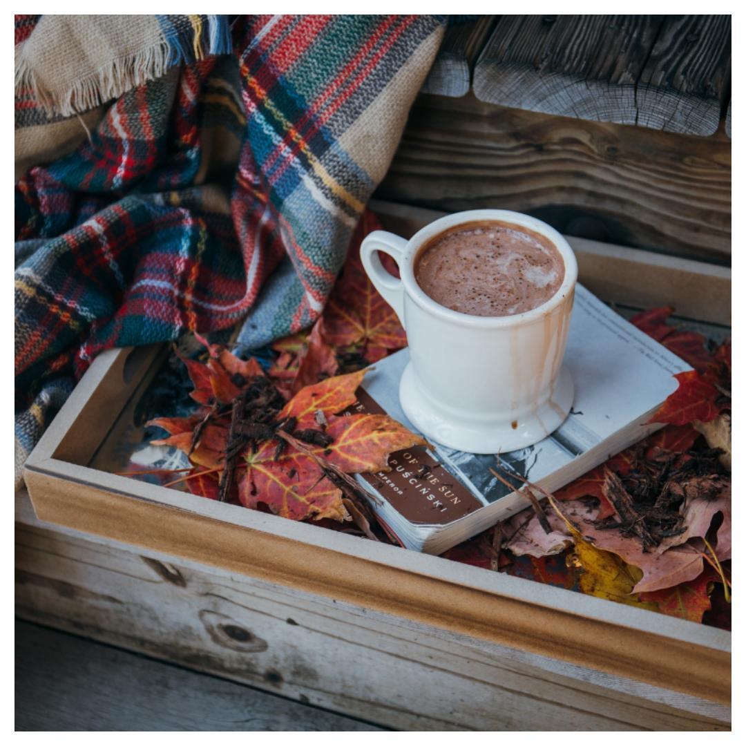 herfst, herfst drankjes, warme chocolademelk