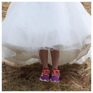 trouwjurk sneakers