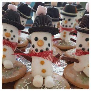 sneeuwpop, kerst, kerstdiner