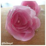 rozen kaarsjes, kaarsen