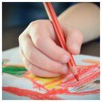 kindertekeningen, bewaren, tekening