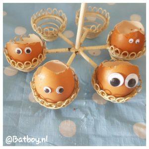 kweken, eierschalen