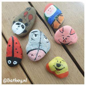 stenen, schilderen